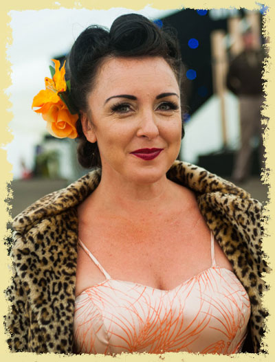 Carli Norris, guest prize giver for Mr & Miss Vintage UK 2018 | Twinwood Festival Vintage Style Competition