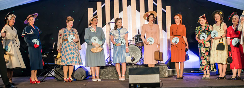 Finalists for Miss Vintage UK 2018 | Twinwood Festival Vintage Style Competition