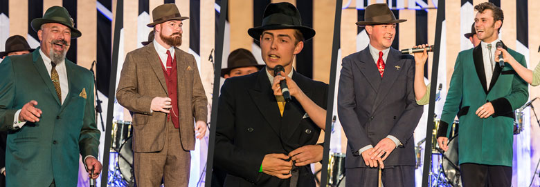Finalists for Mr Vintage UK 2018 | Twinwood Festival Vintage Style Competition