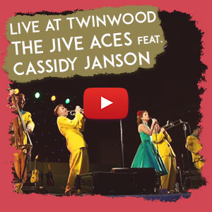 Live at Twinwood - The Jive Aces, featuring Cassidy Janson